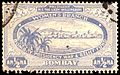 Bombay Presidency War and Relief Fund half anna charity label 1916.jpg
