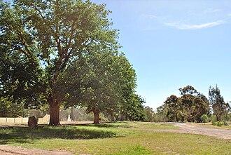 Bonnie Doon, Victoria - The old town site of Bonnie Doon, prior to the construction of Lake Eildon