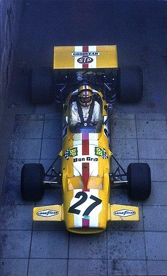 Ecurie Bonnier - Bonnier in his McLaren M7C at the 1971 German Grand Prix.