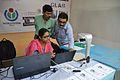 Book Scanning - Wikipedia Stall - Greater Behala Book Fair - Calcutta Blind School Grounds - Kolkata 2015-12-12 7920.JPG