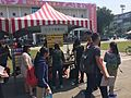 Boot stand of NTU Girls Rugby of Azalea Festival 2017.jpg