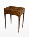 Bord med inläggningar, 1700-talets slut - Hallwylska museet - 110083.tif