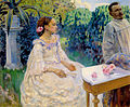 Borisov-Musatov, self-portrait with sister (1898, Russian museum).jpg