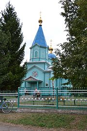 Boryskovychi Gorokhivskyi Volynska-Saint Job Churh-west view.jpg