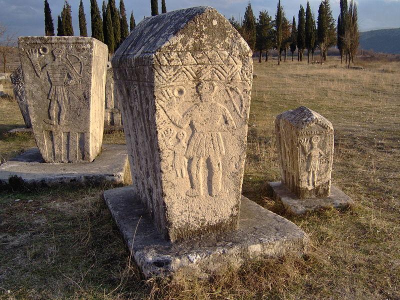 Bosniangraves bosniska gravar februari 2007 stecak stecci5.jpg