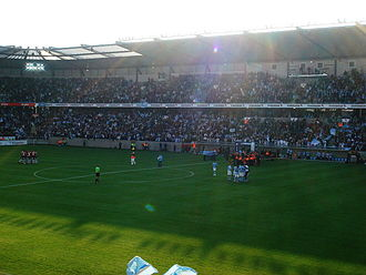 Malmö FF - Opening game at Stadion