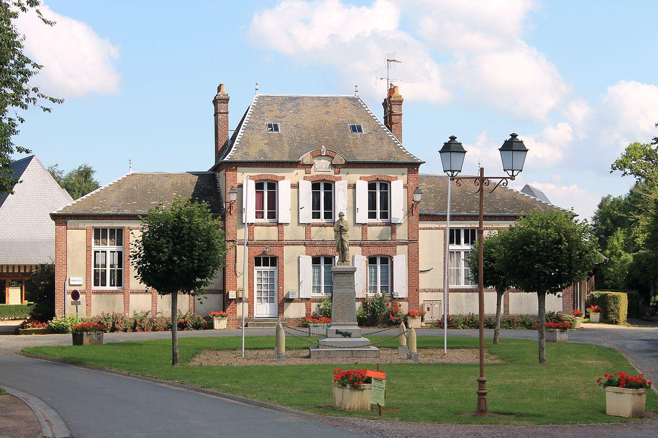 Bourgeauville mairie.JPG