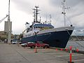 Bow of RV Southern Surveyor at Hobart Nov 2010.JPG