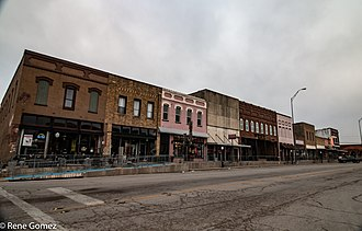 Bowie, Texas - Downtown Bowie, Texas
