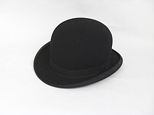 Bowler hat - Wikipedia 808ffb939bb