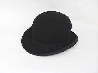 Bowler hat - Bowler hat, mid-20th century (PFF collection).