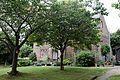 Brick house front garden Goodnestone Dover Kent England.jpg
