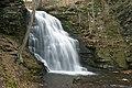 Bridal Veil Falls, Bushkill,PA - panoramio.jpg