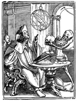 HOLBEIN'S DANCE OF DEATH THE ASTROLOGER