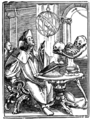 Brief History of Wood-engraving Holbein Astrologer.png