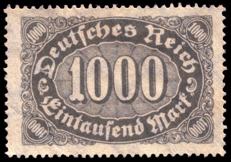 Briefmarke 1000Mark