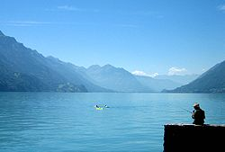 Brienzsjøen  Brienzersee - Lake Brienz