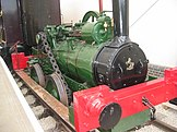 First locomotive used on the Brill Tramway