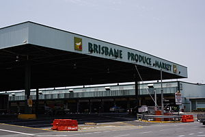 Rocklea, Queensland - The Brisbane Markets within the suburb
