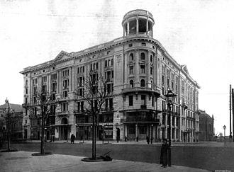 Hotel Bristol, Warsaw - Hotel Bristol in 1901