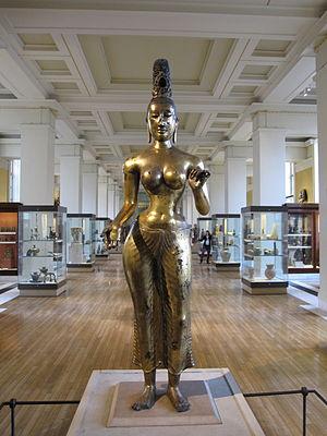 Statue of Tara - Image: British Museum Asia 45