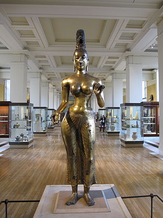 British Sri Lankans - Tara, currently at the British Museum, shows evidence of the cultural interaction of Buddhism with Hinduism among Sri Lankas. She had been a Hindu mother goddess but was redesigned for a new role within Buddhism.