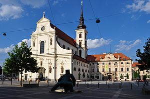 Church of St. Thomas (Brno) - Church of Saint Thomas and the Annunciation, and the Governor's Palace