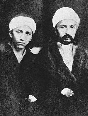 `Abdu'l-Bahá - Image: Brothers 1868