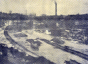 Broughton, Nova Scotia - Mine Yard c.1905