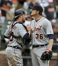 Bryan Holaday, Joe Nathan (14000895919).jpg