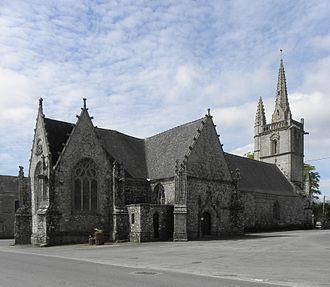 Bubry - The chapel of Saint-Yves, in Bubry