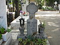 Bucuresti, Romania, Cimitirul Bellu Ortodox (Mormantul poetului Mircea Nedelciu).JPG