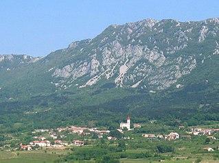 Budanje Place in Inner Carniola, Slovenia