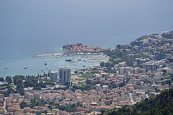 Budva mountain view Budva from the hills.jpg