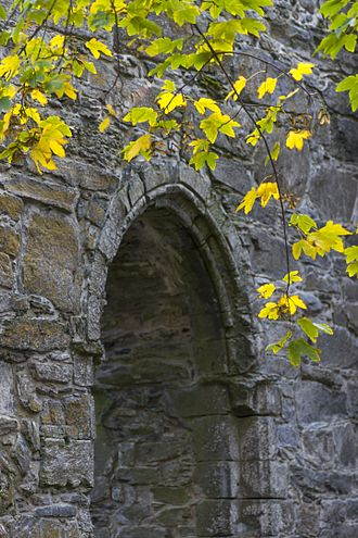 Rein Abbey, Norway - Archway at Rein Abbey ruins