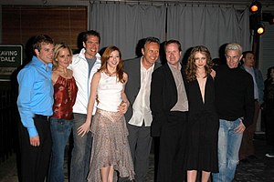 Tom Lenk, Emma Caulfield, Alexis Denisof, Alys...