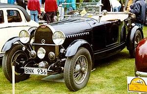 Bugatti 8-cylinder line - 1929 Bugatti Type 49 Tourer