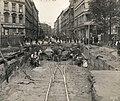 Building the U Bahn, Oranienplatz. View down Dresdener Straße towards Alexanderplatz. 20 September 1915.jpg