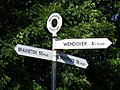 Bulbourne Junction canal signpost - geograph.org.uk - 1401070.jpg