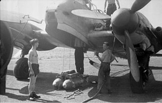 Messerschmitt Me 210 - Me 210 featured a bomb bay, unlike its predecessor Bf 110