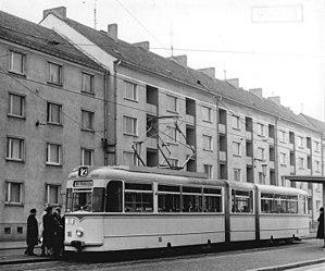Trams in Potsdam