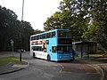 Bus in Jardine Crescent turning circle - geograph.org.uk - 3012707.jpg