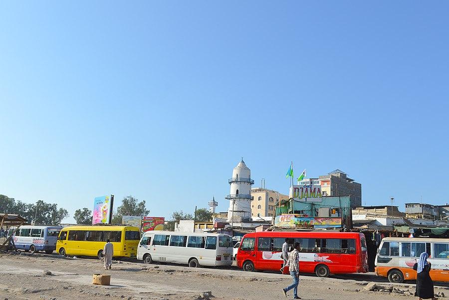 Unde este orașul Djibouti. Țara mică