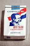 Bush 1988 cigarettes - Richard Nixon Presidential Library and Museum (7867958562).jpg