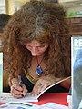 Céline Roussel - Comédie du Livre 2010 - P1390806.jpg
