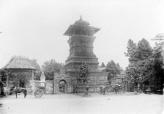 Spread of Islam - Minaret of the Menara Kudus Mosque, influenced by both Islamic and mainly Hindu-Buddhist temple-like Javanese structure.