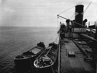 Lighter (barge) type of flat-bottomed barge