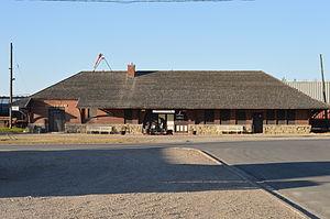 Broadview, Saskatchewan - CPR railway station facing north