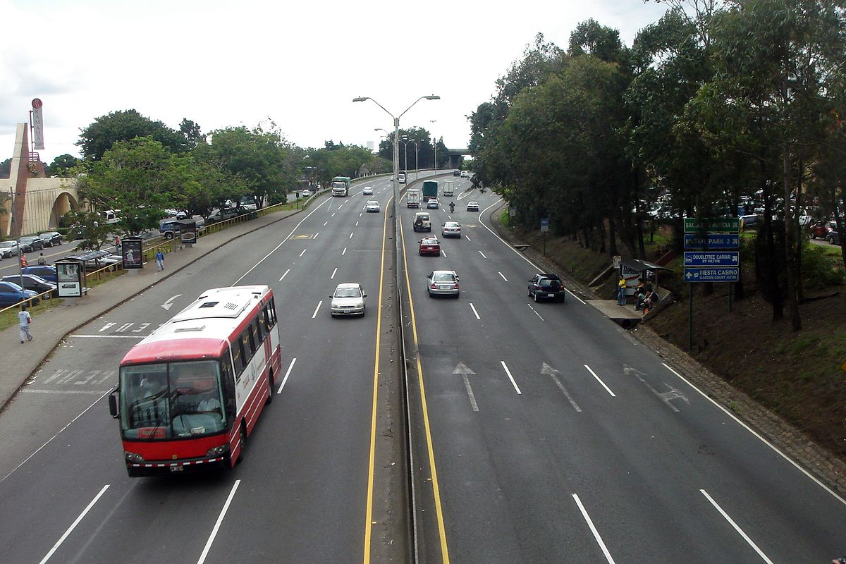 Nissan San Jose >> Autopista General Cañas - Wikipedia, la enciclopedia libre