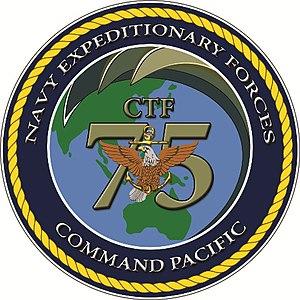 Task Force 75 - Image: CTF 75 EMBLEM